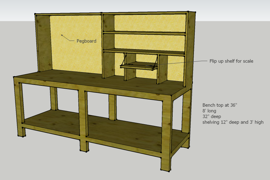 Reloading Bench Design Updated With Pics 56k Beware